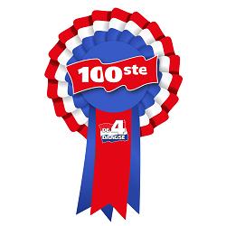 Logo origineel Rozet 100ste Vierdaagse 2